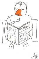 Lectura del diari